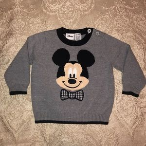 Baby Mickey Mouse sweater
